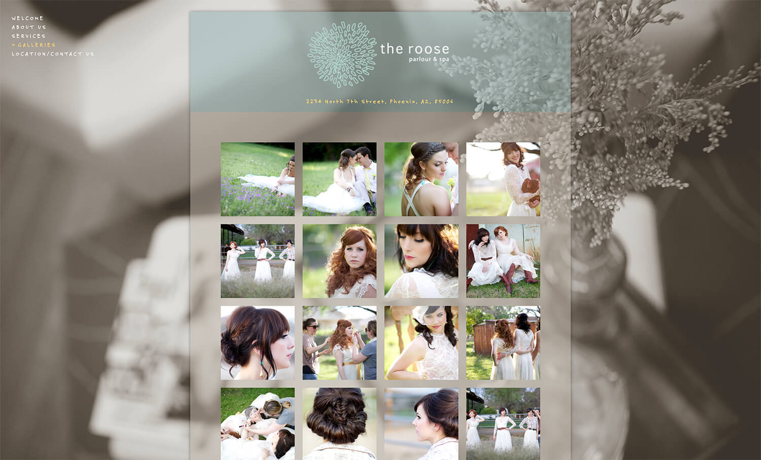 Gallery page for the old roose design